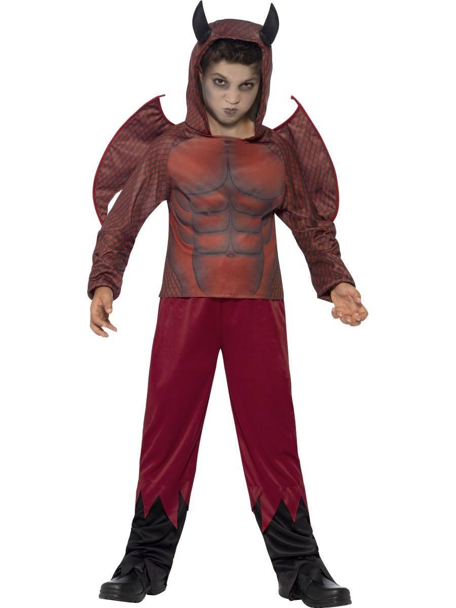 Ördög Jelmez Kisfiúknak Halloweenre