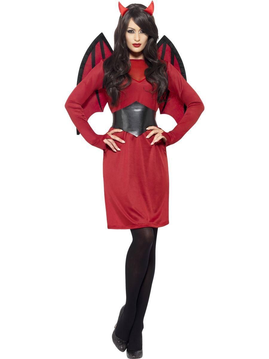 Piros Ördög Jelmez Nőknek Halloweenre