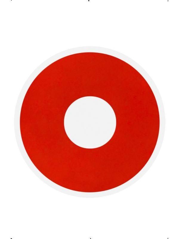 Piros Ördög Kontaktlencse - 1 napos  8c782f6886
