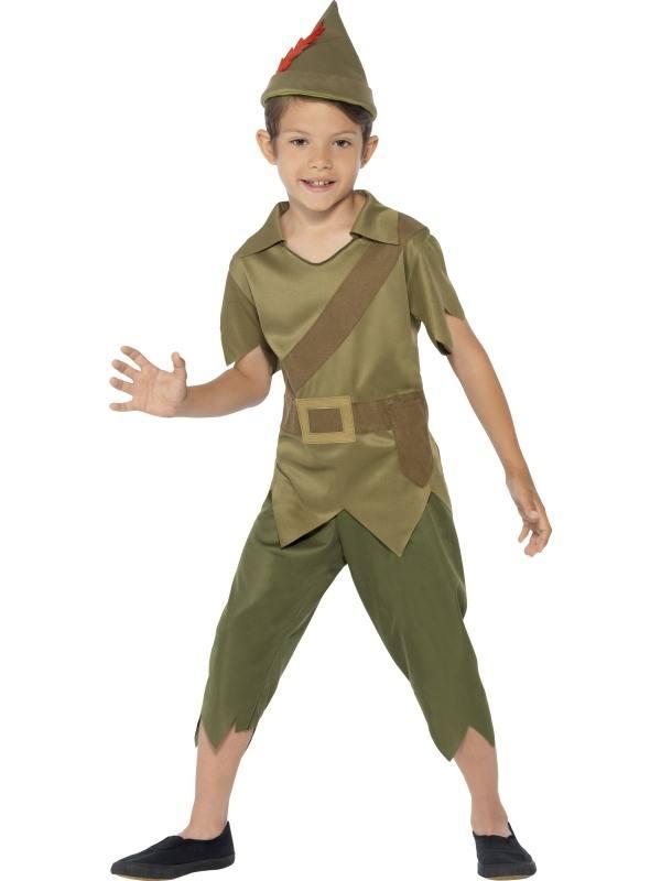 Zöld Robin Hood Jelmez Kisfiúknak