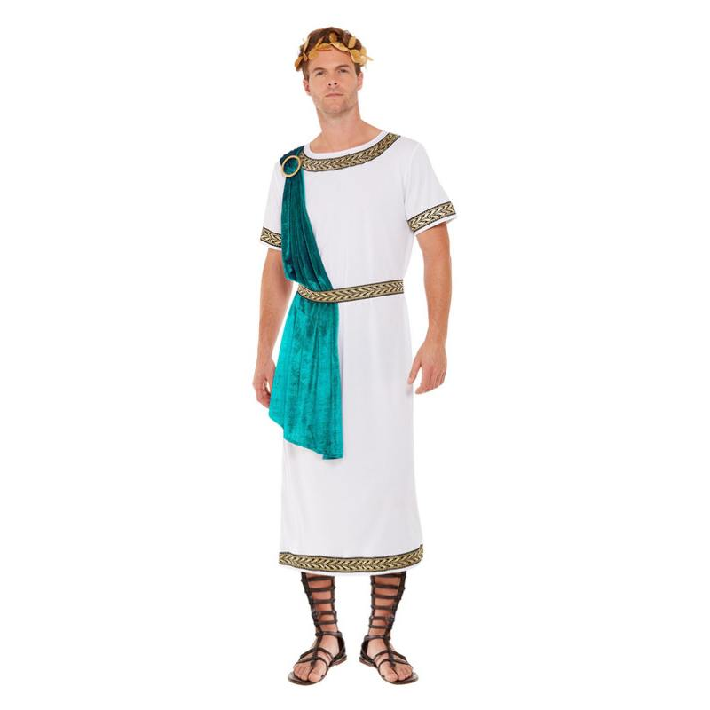 Fehér Római Birodalom Császára Jelmez Férfiaknak - L