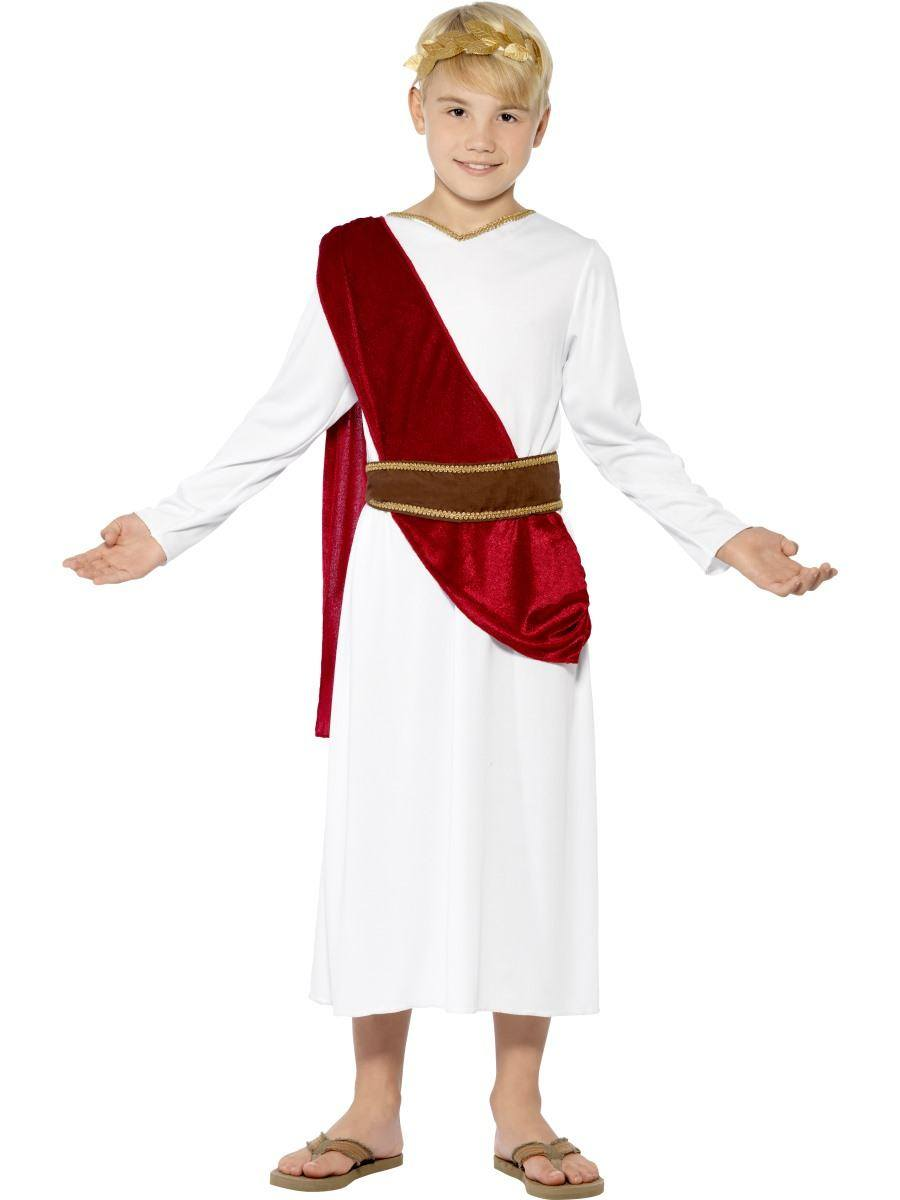Fehér Római Jelmez Kisfiúknak