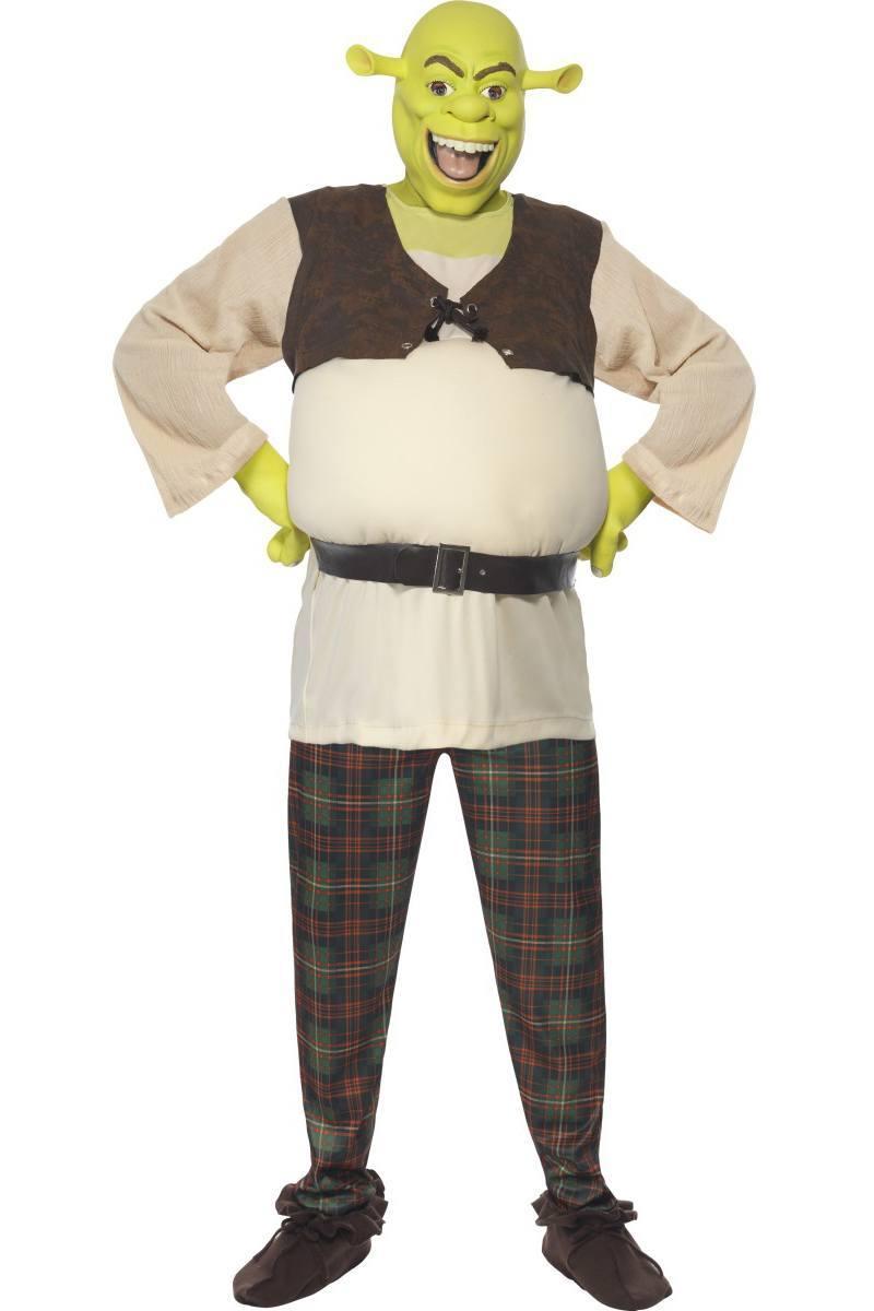 Zöld Shrek Jelmez Kisfiúknak