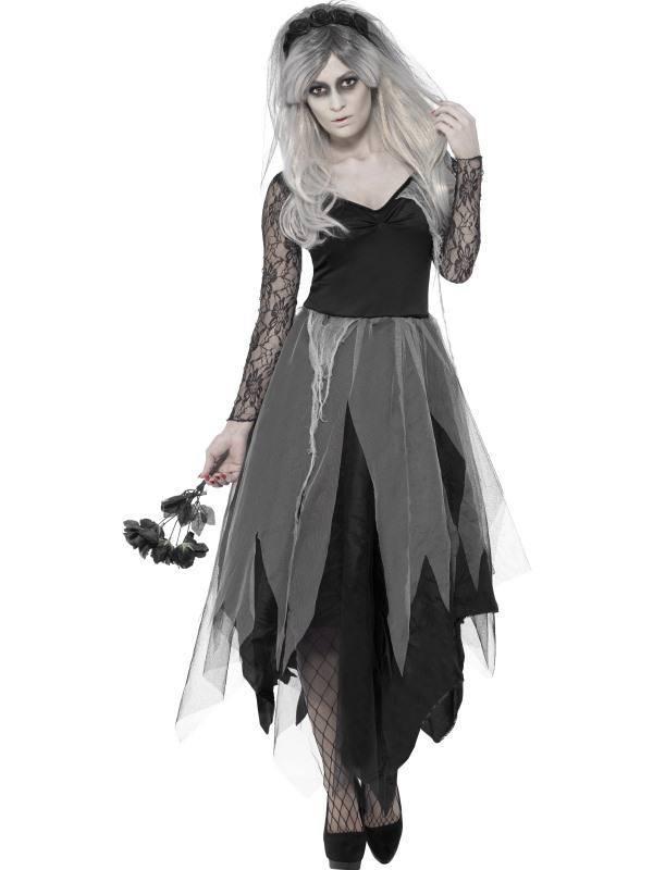 Temető Menyasszony Jelmez Nőknek Halloweenre
