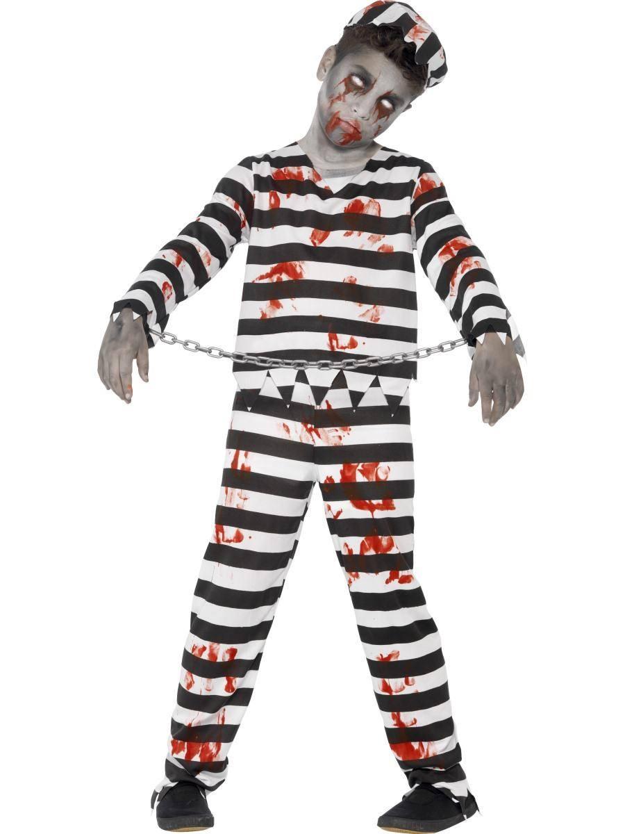 Zombi Elítélt Jelmez Kisfiúknak Halloweenre
