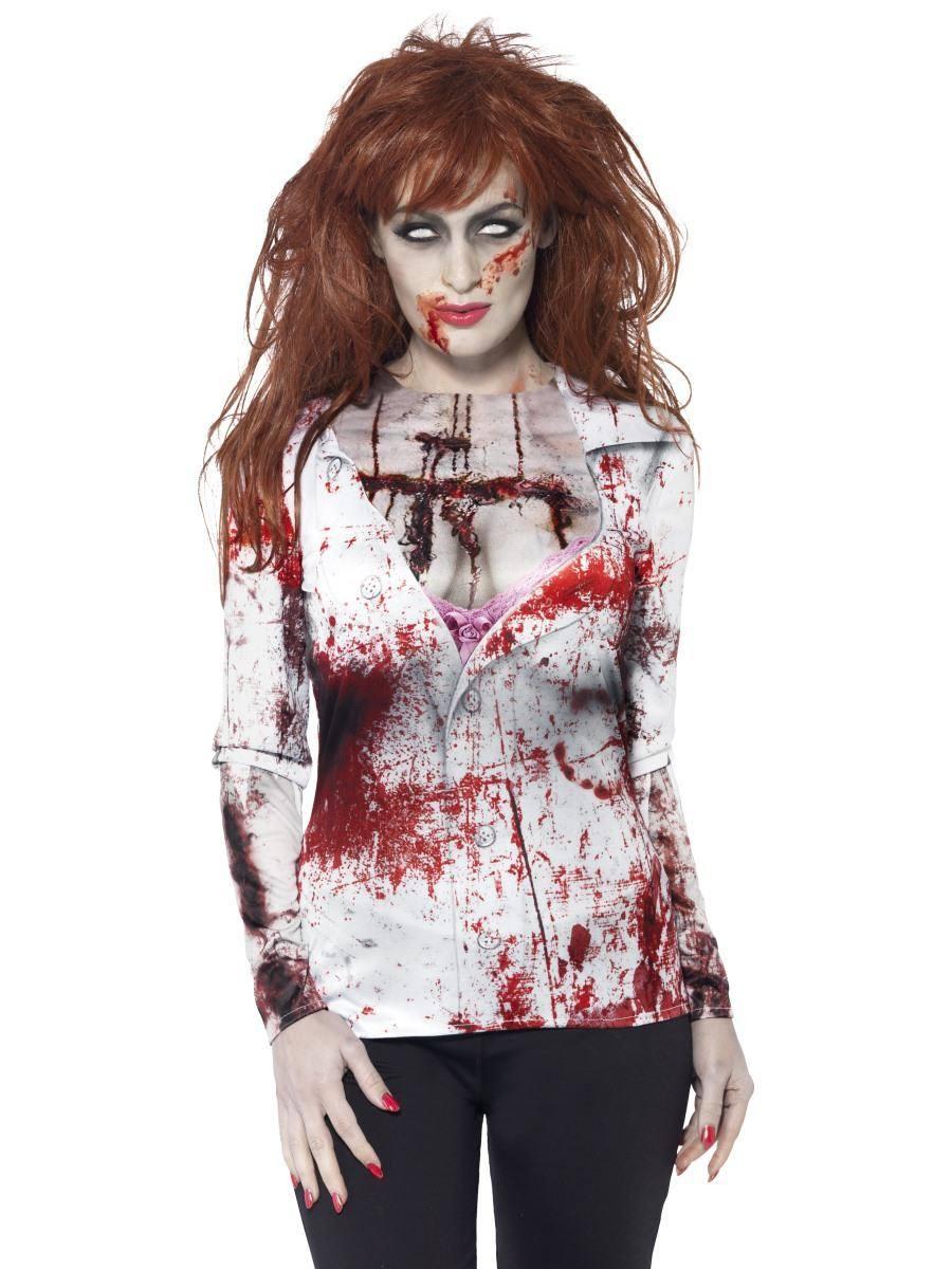 Zombi Póló Nőknek Halloweenre