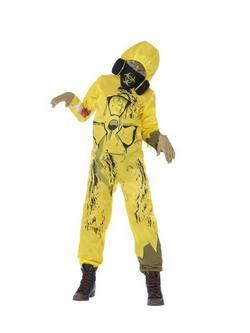 Mérgező Hulladék Gyerek Jelmez Halloweenre
