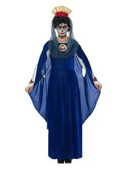 Mexikói Halottak Napja Szent Mária Női Jelmez