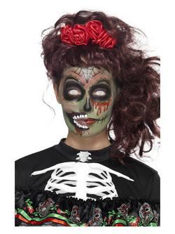 Mexikói Halottak Napja Zombi Smink Szett