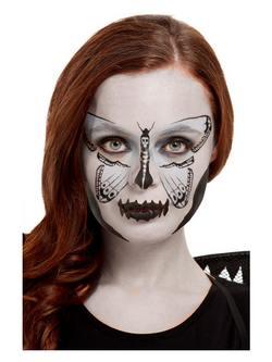 Molylepke Ihlette Szürke Arcfesték Készlet Make-Up Fix