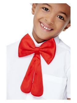 Nagy Piros Csokornyakkendő Gyerekeknek