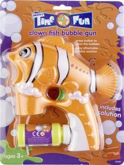 Narancssárga Bohóchal Buborékfújó