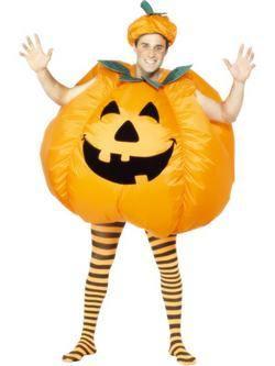 Narancssárga Tök Férfi Jelmez
