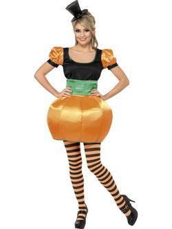 Narancssárga Tök Női Jelmez