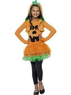 Narancssárga Tök Tütü Kislány Jelmez