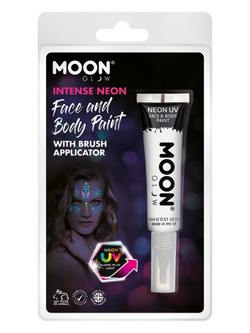 Neon Fehér UV-s Arc- és Testfesték Csomagolásban - 15 ml