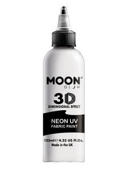 Neon Fehér UV-s Szövetfesték - 125 ml