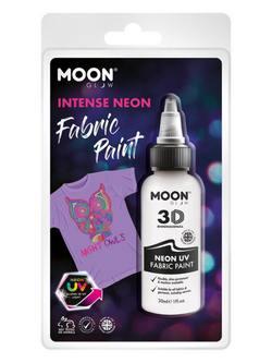 Neon Fehér UV-s Szövetfesték Csomagolásban - 30 ml