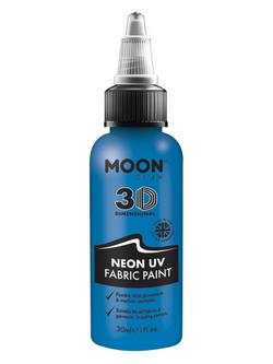 Neon Kék UV-s Szövetfesték - 30 ml