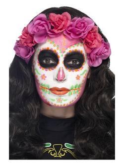 Neon Mexikói Halottak Napja Latex Folyadék 4 Különböző Színű Festékkel