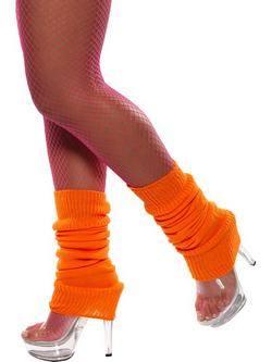 Neon Narancssárga Lábmelegítő