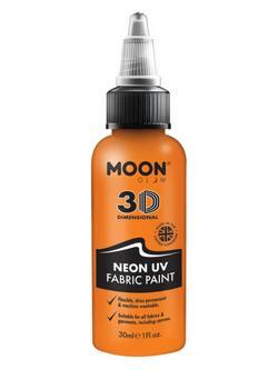 Neon Narancssárga UV-s Szövetfesték - 30 ml