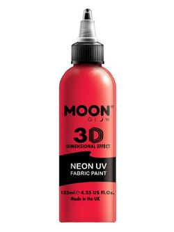 Neon Piros UV-s Szövetfesték - 125 ml