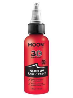 Neon Piros UV-s Szövetfesték - 30 ml
