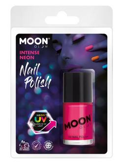 Neon Rózsaszín UV-s Körömlakk Csomagolásban - 14 ml