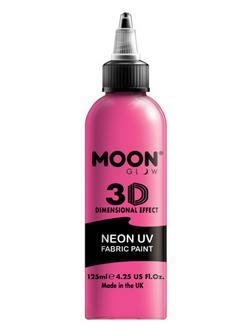Neon Rózsaszín UV-s Szövetfesték - 125 ml