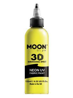 Neon Sárga UV-s Szövetfesték - 125 ml