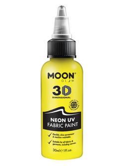 Neon Sárga UV-s Szövetfesték - 30 ml