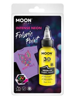 Neon Sárga UV-s Szövetfesték Csomagolásban - 30 ml
