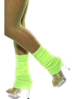 Neon Zöld Lábmelegítő