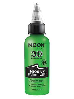 Neon Zöld UV-s Szövetfesték - 30 ml