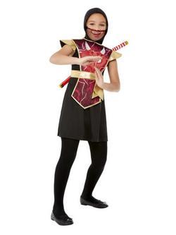 Ninja Harcos Kislány Jelmez