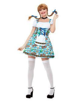 Oktoberfest Sörcsapoló Lány Női Jelmez