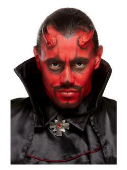 Ördög Ihlette Piros-Fekete Arcfesték Készlet Make-Up Fix