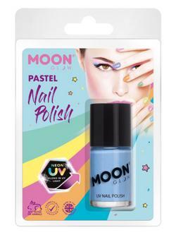 Pasztell Neon Kék UV-s Körömlakk Csomagolásban - 14 ml