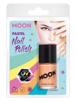 Pasztell Neon Narancssárga UV-s Körömlakk Csomagolásban - 14 ml