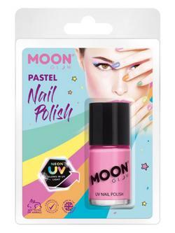 Pasztell Neon Rózsaszín UV-s Körömlakk Csomagolásban - 14 ml