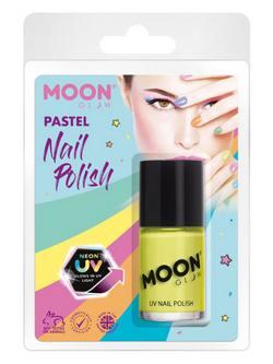 Pasztell Neon Sárga UV-s Körömlakk Csomagolásban - 14 ml