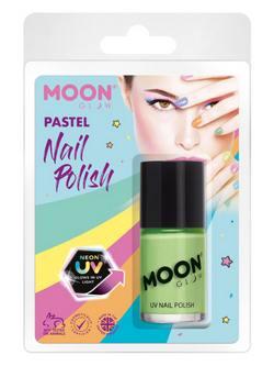 Pasztell Neon Zöld UV-s Körömlakk Csomagolásban - 14 ml