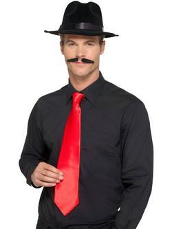 Piros Deluxe Gengszter Nyakkendő