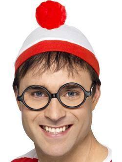 Piros-Fehér Hol Van Wally? Szett Férfiaknak