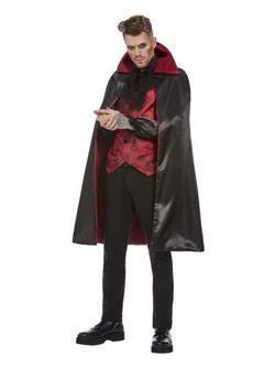 Piros-Fekete Elegáns Ördög Férfi Jelmez Halloweenre