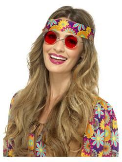 Piros Hippi Szemüveg