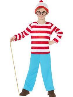Piros Hol van Wally? Kisfiú Jelmez