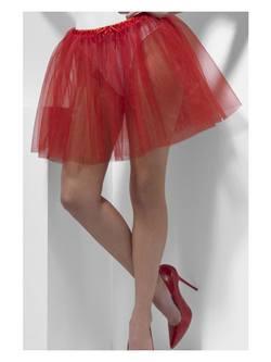 Piros Női Alsószoknya - 34 cm