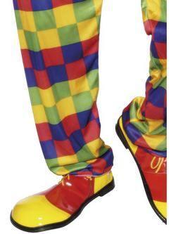 Piros-Sárga Bohóc Cipő